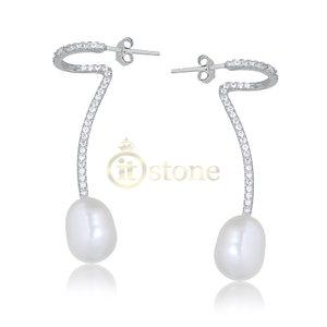 Brinco Style Pearl