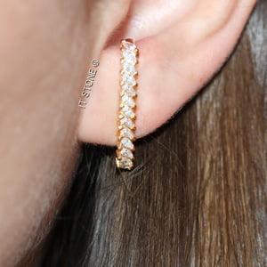 Ear Hook Navetes Folheado