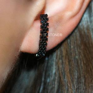 Ear Hook Siena Negro