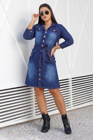 Vestido Jeans Stela