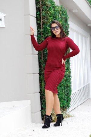 Vestido Tricot Alba