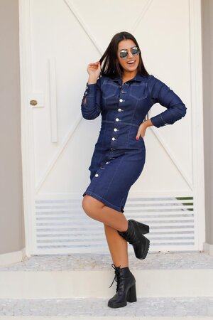 Vestido Jeans Ligia