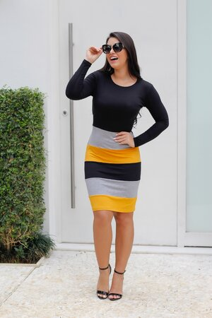 Vestido Malha Nayla