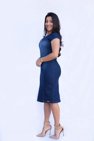 Vestido Tubinho Isabel