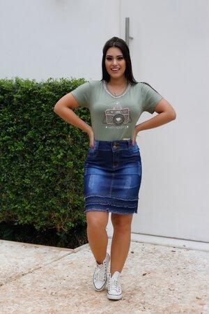 T-shirt Câmera Love
