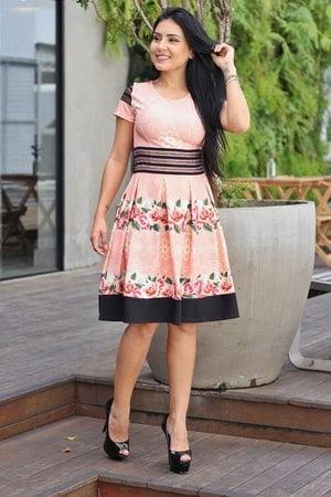 Vestido Boneca Carla
