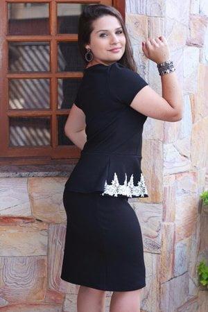 Vestido Tubinho Selena