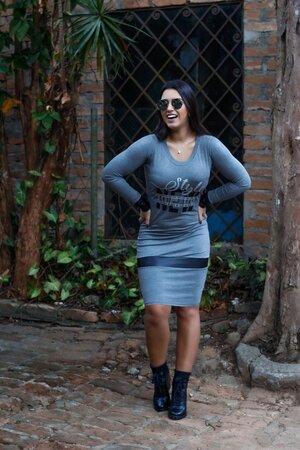 Vestido Tubinho Rafinha
