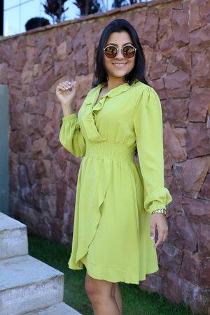 Vestido Transpassado Rubi