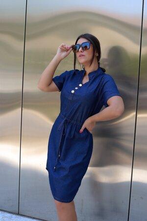 Vestido Jeans Iolanda