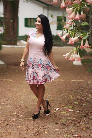 Vestido Boneca Manuella