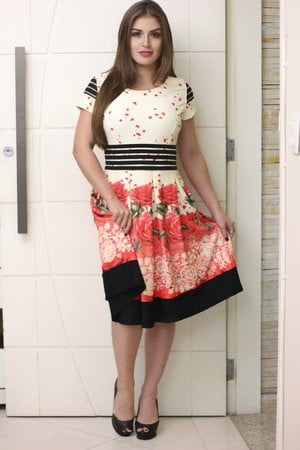 Vestido Boneca Andressa