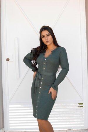 Vestido Tricot Mirela