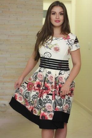 Vestido Boneca Maju