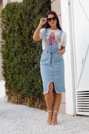 Salopete Jeans Pietra