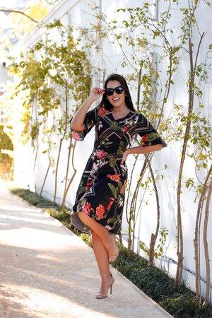 Vestido Boneca Lauren
