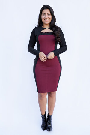 Vestido Tubinho Vivian