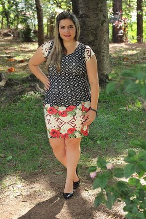 Vestido Plus Size Marjorie