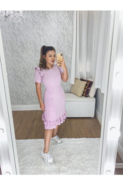 Vestido Malha Sabrina