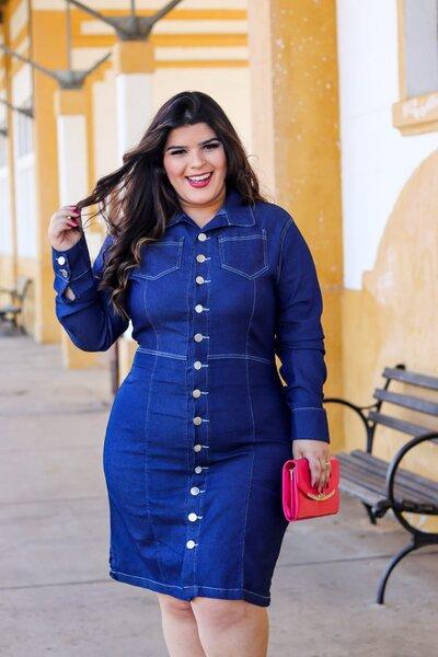 Vestido Plus Ligia