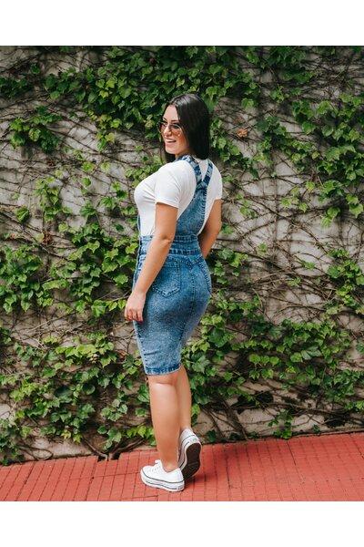 Jardineira Jeans Elba