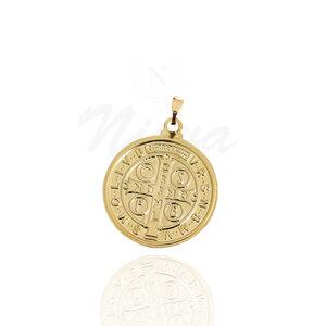 Pigente Medalha de São Bento Ouro G