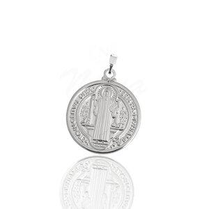 Pigente Medalha de São Bento Ródio G