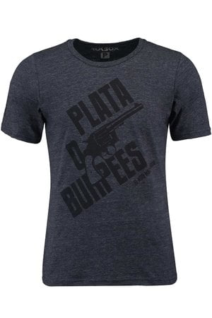 T-Shirt Plata o Burpees Azul