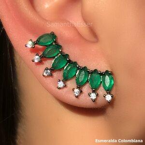 Ear Cuff 7 Navetes - RÓDIO NEGRO