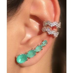 Ear Cuff 4 Ovais - RÓDIO