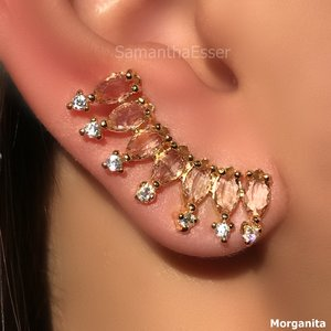 Ear Cuff 7 Navetes - OURO 18K