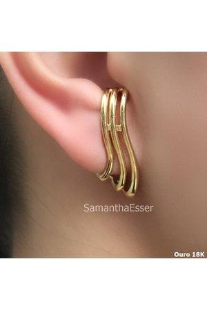Ear Hook Ondulado Inspiração Vivara