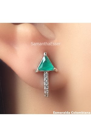 Brinco Ear Hook Triângulo - RÓDIO