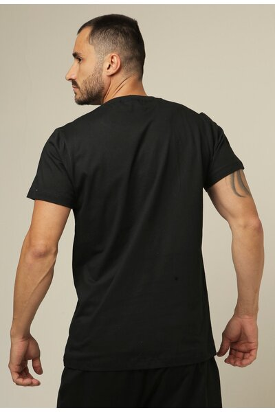 Camiseta masculina Teebox CAFFEINE AND PROTEIN