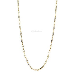 Colar Corrente Cartier Ouro - 51 cm