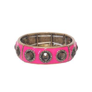 Pulseira Esmaltada Pink - 1