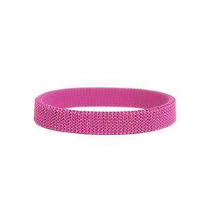 Pulseira Malha Pink - Avulsa s/ pins