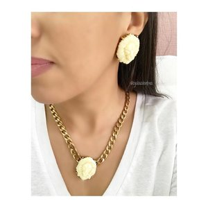Colar Chain Gold Leão Marfim