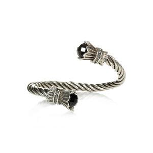 Bracelete Trançado Mesopotamia Black
