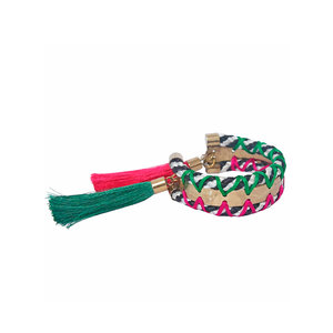 Bracelete Corda e Tassel