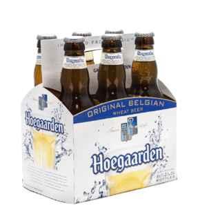 6x Cerveza Hoegaarden en Botellas 330cc