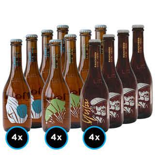 KIT LA MONTAÑA: 12x Variedades de la Cervecería La Montaña