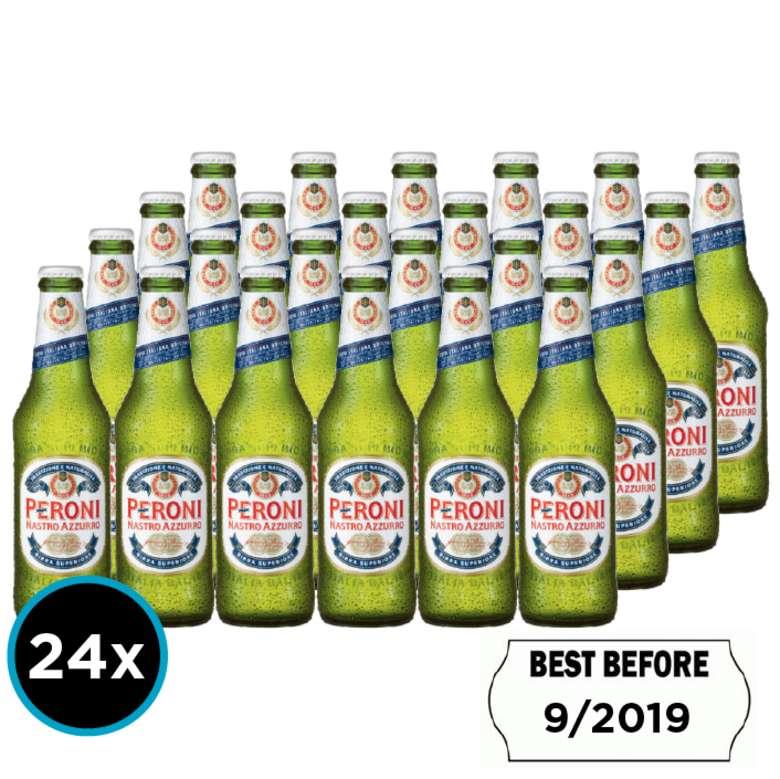 24x Cerveza Peroni Botella 330cc