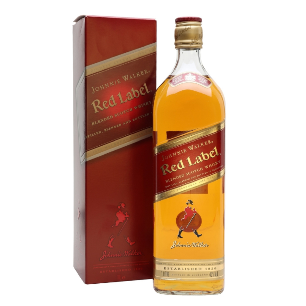 Whisky Johnnie Walker Red Label 1 Litro 40º alc.
