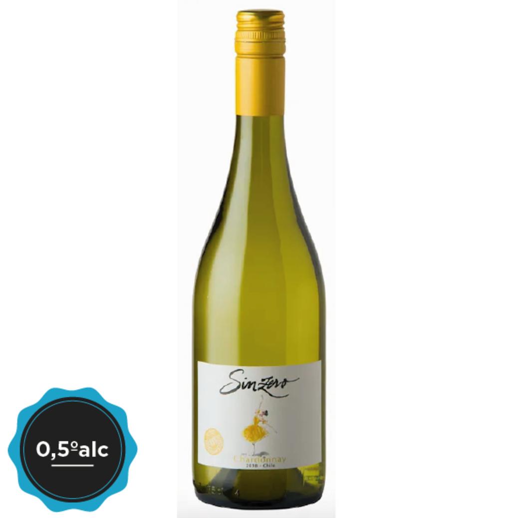 Vino Sinzero Chardonnay 0,5ºalc. 750cc