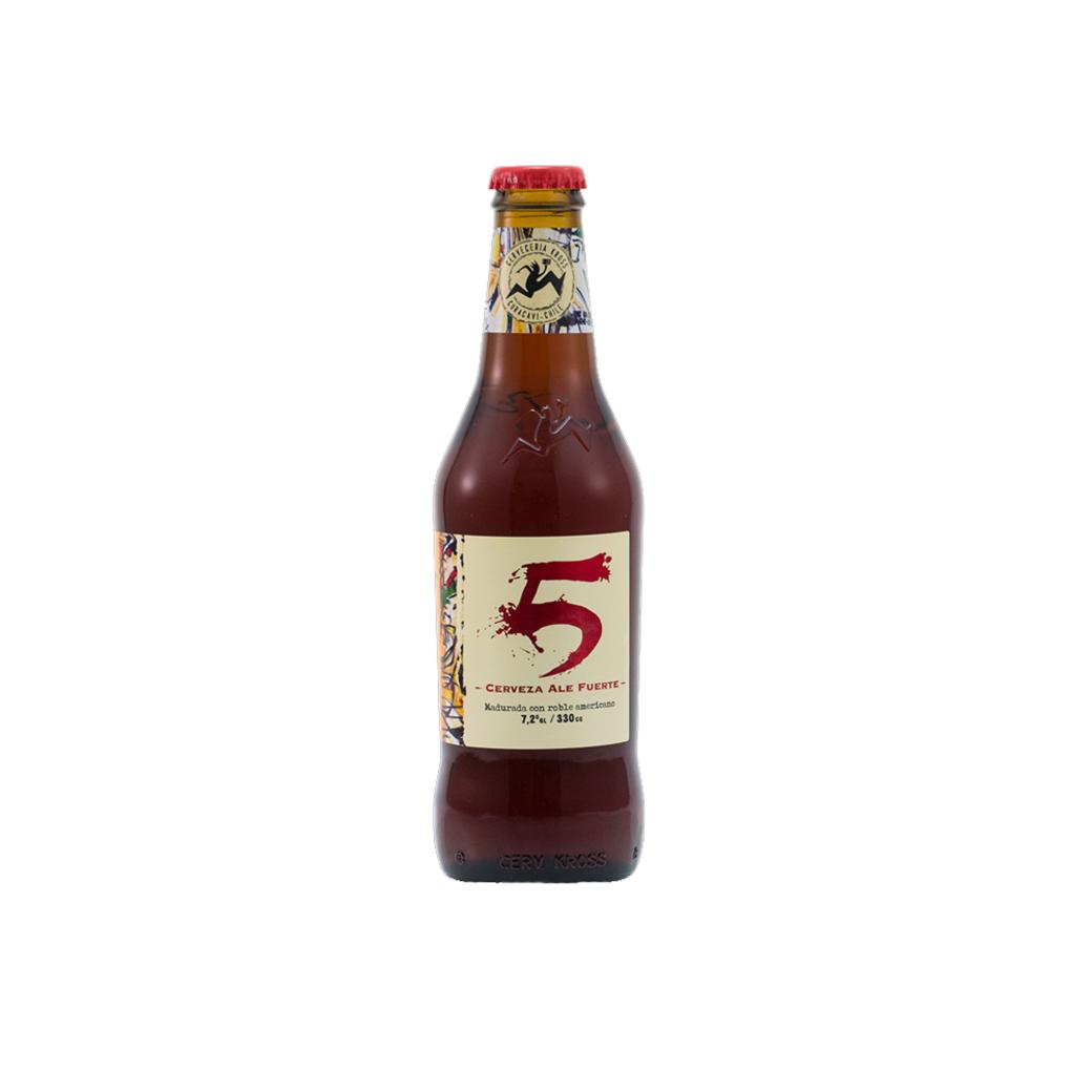 Cerveza Kross 5to Aniversario Botella 330cc