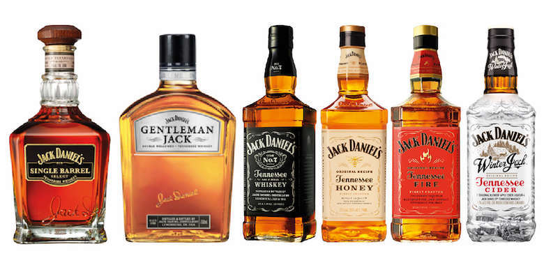 JACK PACK COLLECTION: Single Barrel + Gentleman + Old N7 + Honey + Fire + Winter