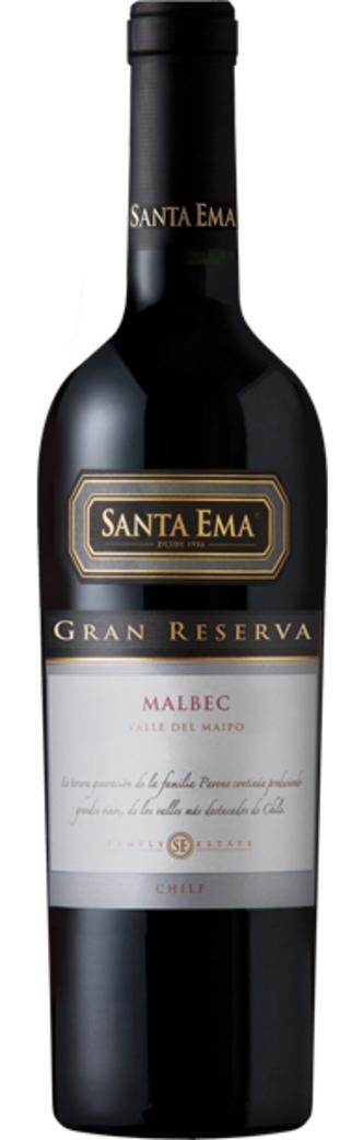Vino Santa Ema Gran Reserva Malbec 750cc