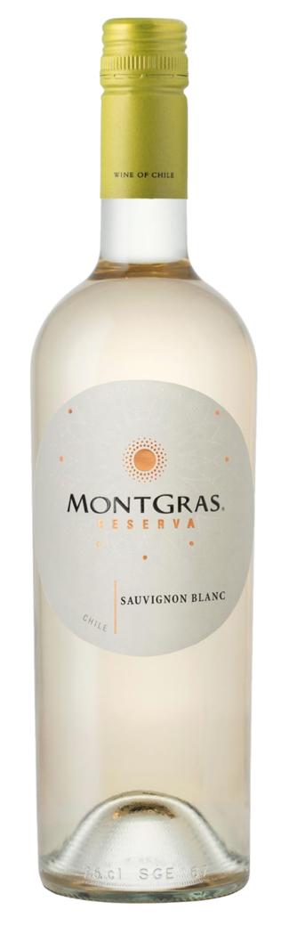 Vino Montgras Reserva Sauvignon Blanc 750cc