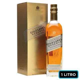 Whisky Johnnie Walker Gold Reserve 1 Litro 40º alc.